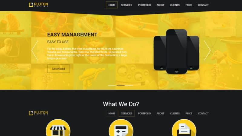 Bootstrap Template, per creare il tuo sito web responsive